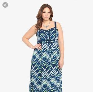Torrid Chevron Maxi Dress 26